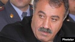 Armenian opposition politician Sasun Mikaelian