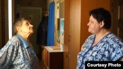 Соседи президента – Мария Цыпленкова и Галина Михеева