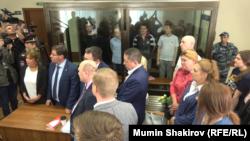 """Суд по делу """"Нового величия"""", Москва, 30 мая 2019 года"""