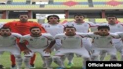 تیم ملی زیر ۲۳ سال؛ عکس از سایت فدراسیون فوتبال ایران