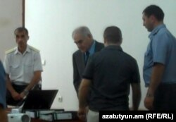 Armenia -- Businessman Serop Der-Boghossian stands trial on pedophilia charges.