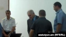 Судебное заседание по делу Сероба Тер-Погосяна