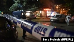 Mjesto napada na novinarku Oliveru Lakić, Podgorica, 8. maj 2018.