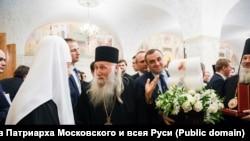 Патриарх Кирилл и иерей Виссарион
