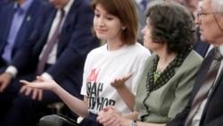 Анна Луганская - о своем походе в Кремль в футболке в поддержку Ивана Голунова