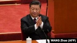 Председатель КНР Си Цзиньпин на торжественном заседании, посвященном сорокалетию реформ в Китае