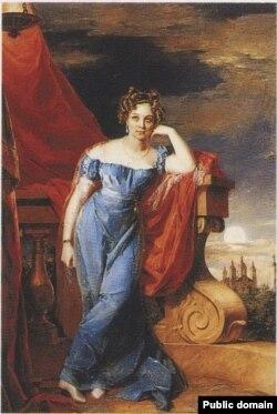 Аграфена Закревская. 1823