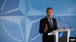 Генералниот секратар на НАТО, Андерс Фог Расмусен.