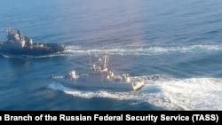 2018 senesi noyabr 25-te Keriç boğazında üç ukrain gemisinen olıp keçken vaqia