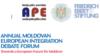 Forumul anual de Dezbateri privind Integrarea Europeană a Republicii Moldova, la cea de a patra ediție