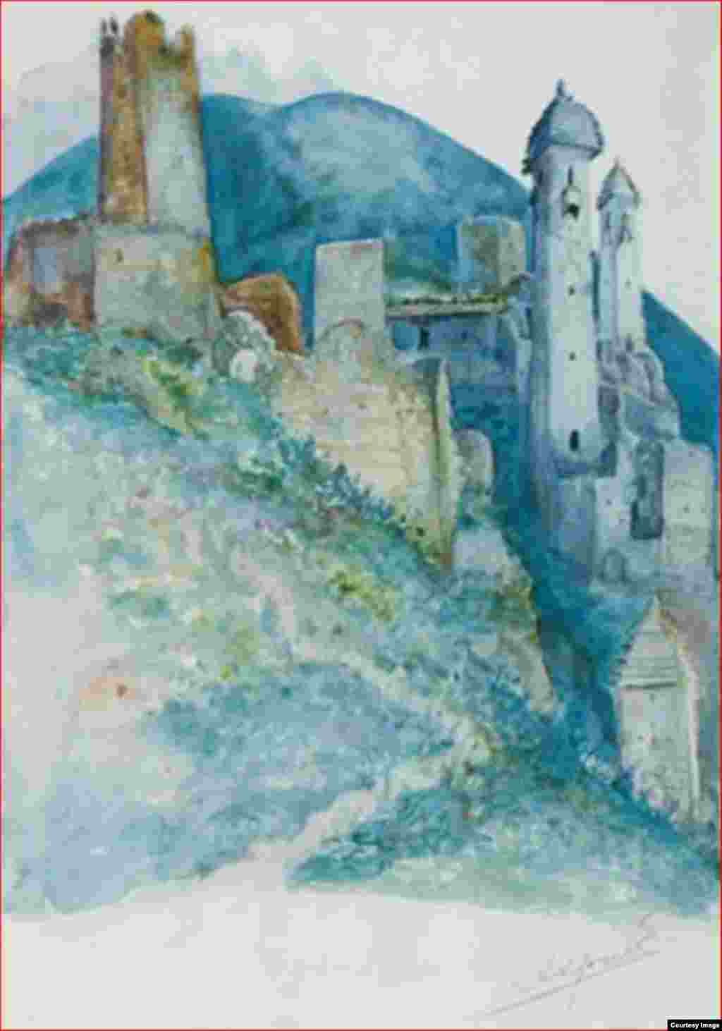 Аул Хани, 1920 г.