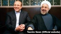 Хасан Роугані та Могаммад Багер Галібаф