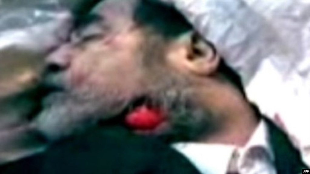 video saddam hussein