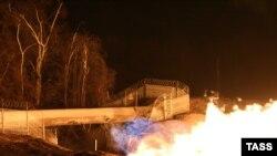 Бомба была заложена на 496-м км газопровода Моздок-Газимагомед в Дагестане, 13 января 2010 года