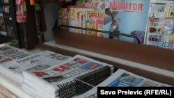 Kiosk sa novinama