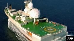 Норвежское наблюдательное судно Marjata в Баренцевом море