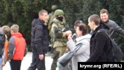 Захоплення Криму. Як це було. 2.03.2014 (фотогалерея)