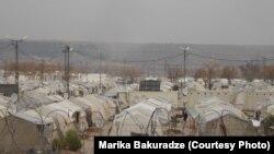 Туркиядаги суриялик қочқинлар лагери.
