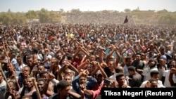 Etiopija, protesti, ilustrativna fotografija