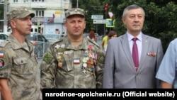 Армен Мартоян (в центре). Фото с сайта «крымской самообороны»