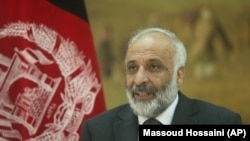FILE: Afghan spy chief Masoom Stanekzai