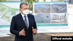 """President Shavkat Mirziyoev publicly accused Akram Rahmonqulov of """"betraying presidential politics"""" over the collapse of a high-rise residential building under construction in the regional capital."""