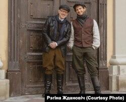 Сяргей Латышаў (справа)