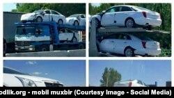 Автомобили Cadillac, приобретенные для саммита ШОС в Ташкенте.