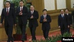 Қытай Коммунистік партиясы саяси бюросының мүшелері (Көрнекі сурет).