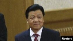 Лю Юньшань. Бейжің, 15 қараша 2012 жыл.