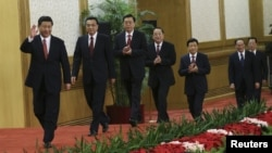 Новото кинеско Политбиро