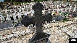 Groblje u selu Bratunac kod Srebrenice
