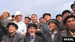 Аксы районунун аксакалдары