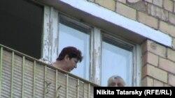 Ռուսաստան - Մոսկվայի «Յուժնի» հյուրանոցում բնակվող փախստականները, 28-ը հունիսի, 2011թ.