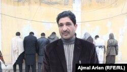 ویس الدین تلاش مدیر عمومی مبارزه با جرایم جنایی قوماندانی امنیه کندز