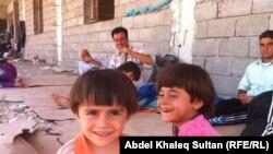 Jezidske izbeglice u Iraku, ilustrativna fotografija