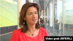 Slovenian lawmaker Tanja Fajon, the rapporteur on the Kosovar file
