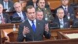 grab Russian Prime Minister Dmitry Medvedev