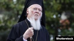 Патриарх Константинопольской церкви Варфоломей.