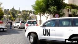 Инспекторы ООН едут к месту возможной химической атаки в Сирии