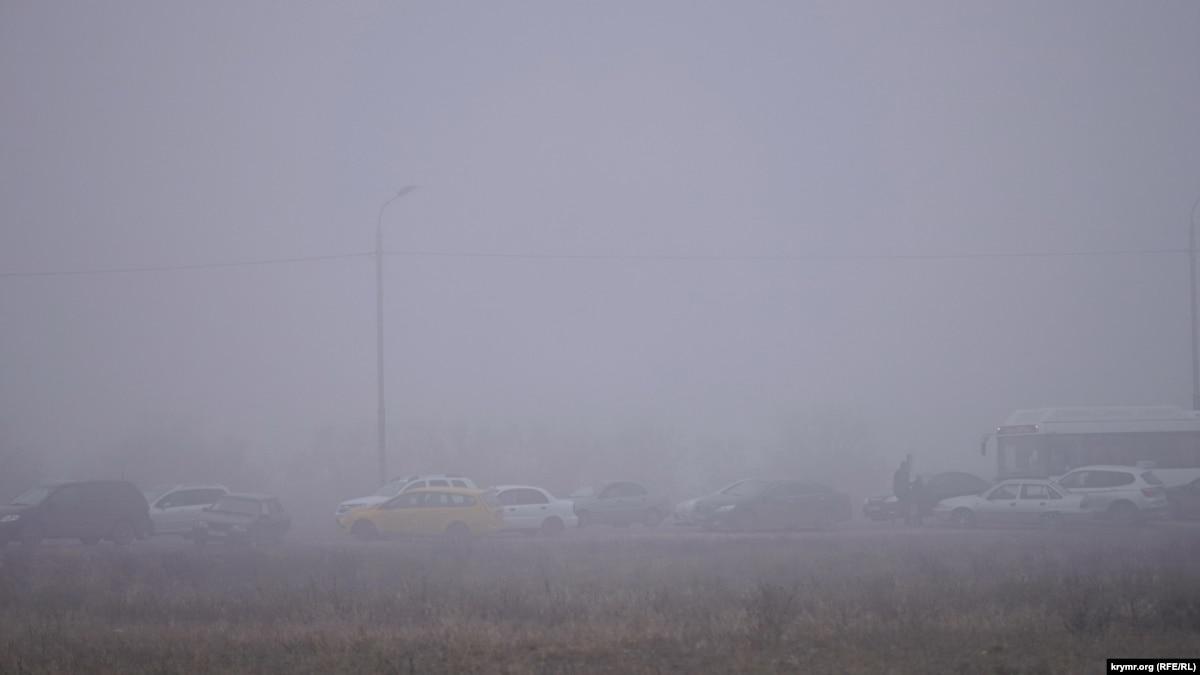 ГСЧС предупреждает о туманы в Украине