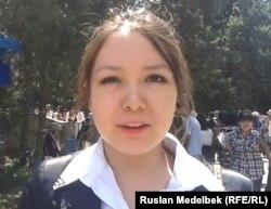 Асем Картаева, участница комплексного тестирования. Алматы, 19 июля 2013 года.