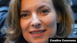 Валери Триервейлер, спутница президента Франции Франсуа Олланда.
