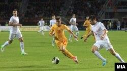 Македонија-Србија во Скопје на 17октомври 2012.