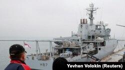HMS Echo в порту Одеси, 21 грудня 2018 року