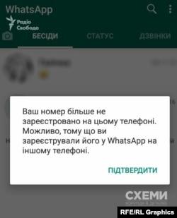Невідомі отримали доступ до WhatsApp-акаунту SMM/Web-редакторки