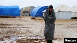 Сириядагы качкындар лагеринен бир көрүнүш