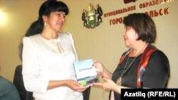 Луиза Шәмсетдинова һәм Фәүзия Марганова