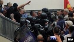 Kuvendi i Maqedonisë, 27 prill, 2017.