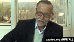 Әбубәкір Павиз, жыршы. Алматы, 16 сәуір 2013 жыл.